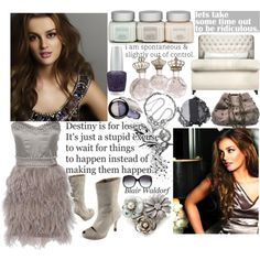 """""""Blair"""" created by #colette, #polyvore #fashion #style Opening Ceremony #Rika #Monsoon John Hardy #Dannijo #Chanel #Stila H.I.P. #OPI"""