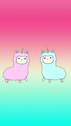 Cute Wallpaper Backgrounds, Tumblr Wallpaper, Iphone Wallpaper, Kawaii Drawings, Cute Drawings, Alpacas, Cute Wallpapers Quotes, Vip Kid, Kawaii Chibi