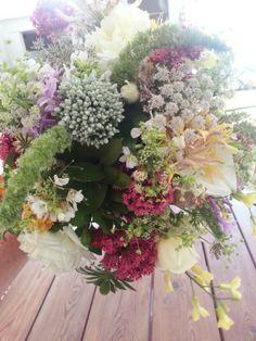Wild flower wedding bouquet Flower Bouquet Wedding, Bologna, Spring 2015, Daisies, Wild Flowers, Rustic Wedding, Floral Wreath, Villa, Gardens