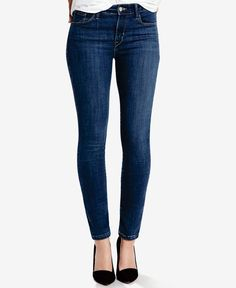 fbb33ef81f1 Levi s Mid-Rise Skinny Jeans Short and Long Inseams Women - Jeans - Macy s
