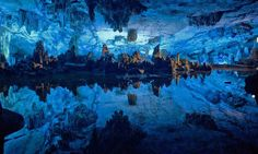 Reed Flute Lake in Guilin, Guangxi, China   13 Bodies Of Water That Are Calling Your Name
