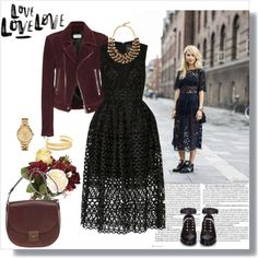 what jewelry to wear with black lace dress 3