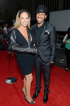 Mariah Carey and Nick Cannon - ' The Butler' New York Premirere