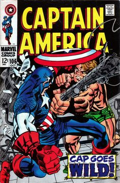 Captain America 106 - Stan Lee and Jack Kirby