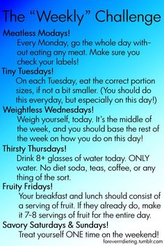 "I might just try this! It actually sounds do-able. Plus, it's not one of those ""starve yourself!"" plans."