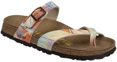 Papillio's Tabora sandal for women is a comfortable and supportive with a soft toe wrap piece and graceful styling.