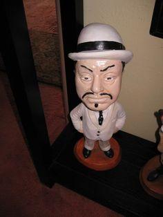 """Rare Esco """"Charlie Chan"""" Detective Statue!!!!"""