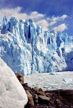Cómo dejar afuera una de las maravillas más hermosas, y un orgullo que sea argentina!  Glaciar Perito Moreno