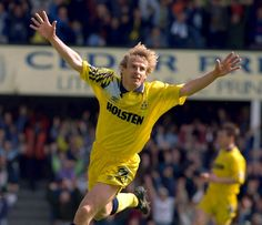 Jurgen Klinsmann of Tottenham Hotspur in 1994.