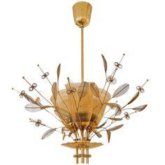 Paavo Tynell Custom Order Lamp Model No. Chandelier Pendant Lights, Lamp Design, Ceiling Lamp, Lamp, Danish Modern Design, Chandeliers And Pendants, Lights, Vintage Lighting, Chandelier