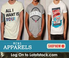 Get mens apparels, forget the rest...http://goo.gl/FevykJ