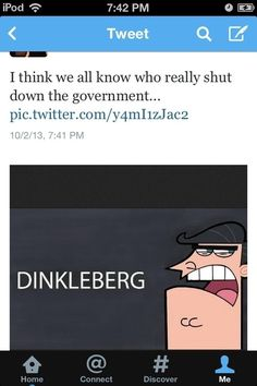 "The Fairly Oddparents ""DINKLEBERG!"" troupe. 