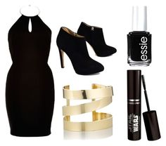 """""""Out to Dinner with him"""" by purplefish101 ❤ liked on Polyvore featuring beauty, River Island, Giuseppe Zanotti, Étoile Isabel Marant and Essie"""