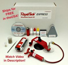 Windshield Repair Kit RapidTech EXPRESS