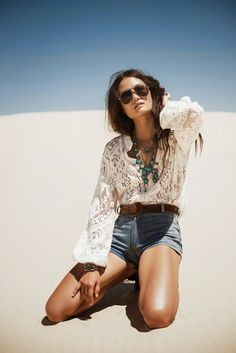 "Spell & the Gypsy Collective ""White Dunes, Gypsy Hues"" May/June lookbook photography Johnny Abegg"