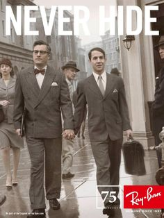 75 years of Ray Ban. Pretty powerful ad