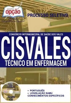 Concurso CISVALES  TÉCNICO EM ENFERMAGEM