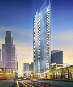 Sowwah Central, Elkus Manfredi Architects, world architecture news, architecture jobs