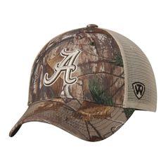 Alabama Crimson Tide TOW Camo Mesh Prey Adjustable Snapback Hat Cap