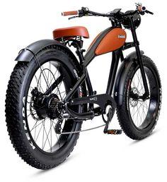 Tiquattro EB 250W 500W | ITALMOTO - Moto Scooter E-bike Made in Italy