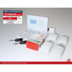 M2BX Funk GSM Alarmanlagen-Set 3