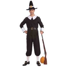 Men's Colonial Pilgrim Costume