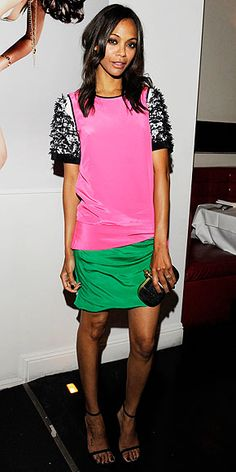 I love the colors of this outfit and Zoe Sandala in this outfit