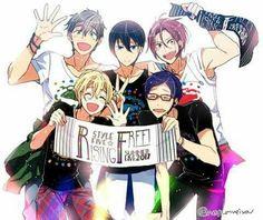 5 Anime, Free Anime, Hot Anime Guys, Anime Love, Kawaii Anime, Anime Shows, Me Me Me Anime, Rin Matsuoka, Makoto Tachibana