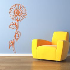 Summer Drive Mural Wall Decal (14in x 39in )
