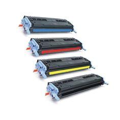 N HP Q6000A Q6001A Q6002A Q6003A Toner Cyan Magenta Yellow Compatible Toner Cartridge 1600 2600N CM1017 MFP