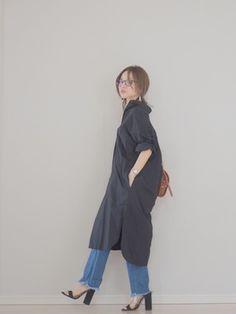田中亜希子さんの「BEAMS BOY / 天竺 無地 ボートネック 7分(BEAMS BOY ビームスボーイ)」を使ったコーディネート