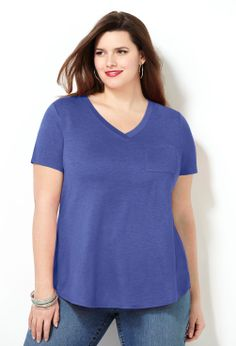 Go-To Tee-Plus Size Tee-Avenue