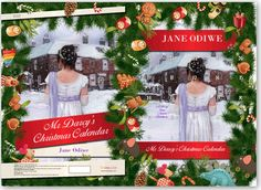 The Advent Calendar I made on Snapajack-fun to do! Christmas Is Over, Before Christmas, Christmas Tree, Christmas Ornaments, Christmas Calendar, Advent Calendar, Complicated Love, Mr Darcy, Jane Austen