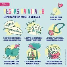 listography: notes (Regras da Vida - Revista Sorria)