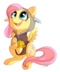 Discorded Fluttershy by C-Puff.deviantart.com on @deviantART