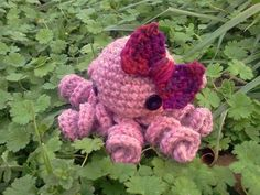 Olivia the Amigurumi Octopus by WyandotteWears on Etsy, $10.00