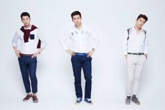 #2PM #Chansung #Taecyeon #Wooyoung @ Lotte Duty Free