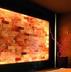 Himalayan Salt Architectural Brick or Tile SPA Walls by ELEMEANTS