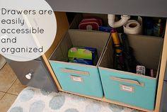 Organizing a Small Bathroom Space!