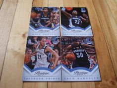 Mike Conley Zach Randolph Jamaal Franklin RC 2013 14 Prestige Grizzlies Card Lot | eBay