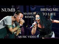 Linkin Park & Evanescence - Numb Life (Official Video) - Mashup Numb & Bring Me To Life Remix Music, Music Mix, Music Love, My Music, Music Guitar, Bring Me To Life, Bring It On, Bedtime Music, Ben Moody