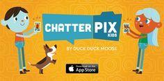 Chatterpix: aplicación excelente para crear imágenes parlantes.