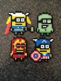 Minion Avengers Perler Beads