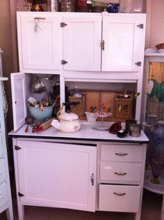 Vintage Restored Hoosier Cabinet