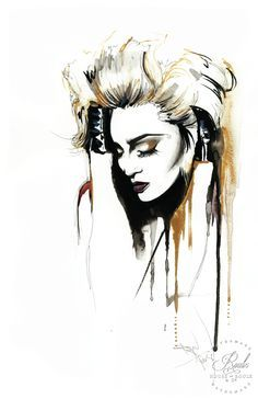 """""""Madonna"""" by Therése Rosier - Limited Edition, Fine Art Print"""