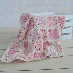 handmade crochet baby blanket crochet baby afghan baby