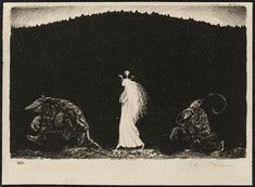 John Bauer, 1915 via Monster Brains