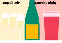 is it wrong that my usual Saturday night looks like the Paris side? I think that's a sign....