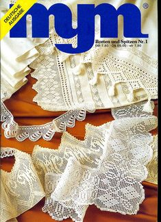 View album on Yandex. Crochet Books, Thread Crochet, Knit Crochet, Crochet Lace Edging, Crochet Borders, Lace Doilies, Crochet Doilies, Crochet Symbols, Manta Crochet