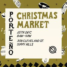 Finished all your Christmas gift shopping? Come visit us this Sunday at the Porteno Christmas Market in Surry Hills. Hope to see you there! Surry Hills, Japanese Design, Sydney, Christmas Gifts, It Is Finished, Marketing, Shopping, Japan Design, Xmas Presents